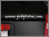 pidplates personal car identification